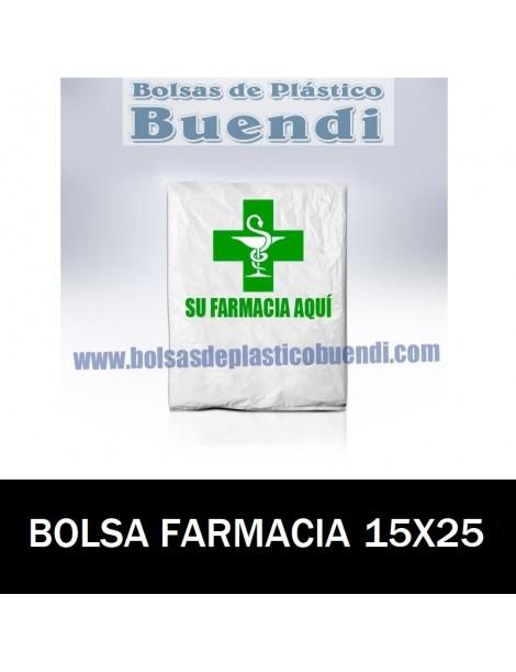 BOLSAS DE FARMACIA PERSONALIZADA SOBRE (15x25)