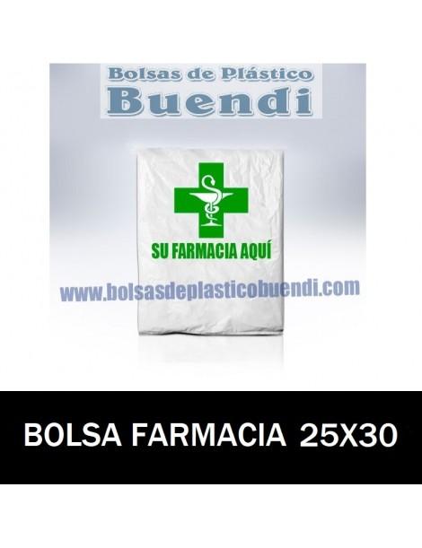 BOLSAS DE FARMACIA PERSONALIZADA CAMISETA (25X30)