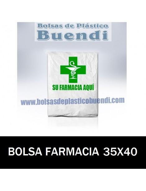 BOLSAS DE FARMACIA PERSONALIZADA CAMISETA (35X40)