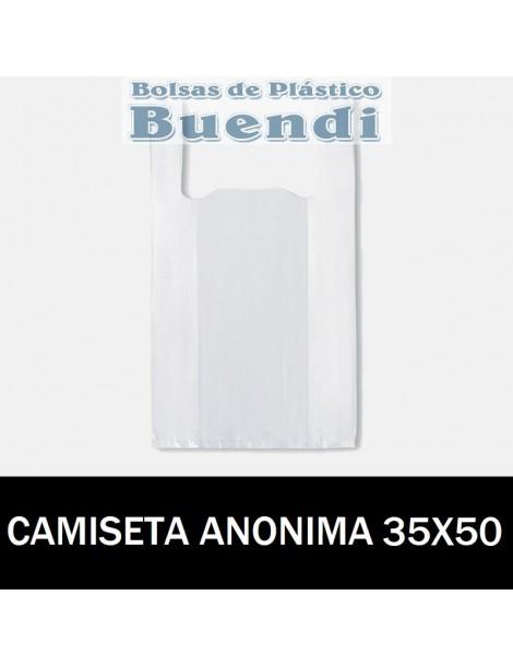BOLSAS DE PLASTICO CAMISETA ANÓNIMAS 35X50