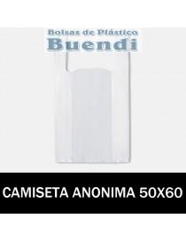 BOLSAS DE PLASTICO ASA CAMISETA ANONIMAS 50x60 G.90