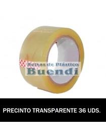 ROLLOS DE PRECINTO TRANSPARENTE 132M