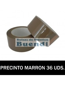 ROLLOS DE PRECINTO MARRÓN 132M