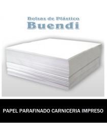 PAPEL PARAFINADO CARNICERIA IMPRESO