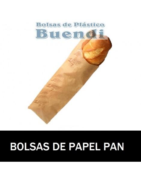 BOLSAS DE PAPEL PAN 14+6X51