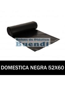BOLSAS DE BASURA NEGRA 52x60 25 SERV. G.80