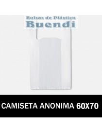 BOLSAS DE PLASTICO CAMISETA ANÓNIMAS 25X60