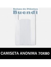 BOLSAS DE PLASTICO ASA CAMISETA ANONIMAS 70x80 G.90