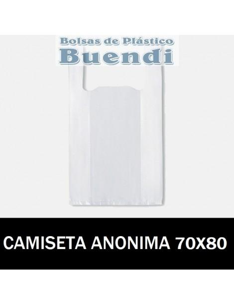 BOLSAS DE PLASTICO CAMISETA ANÓNIMAS 35X60