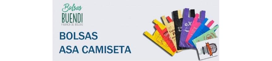BOLSAS DE PLASTICO ASA CAMISETA IMPRESAS