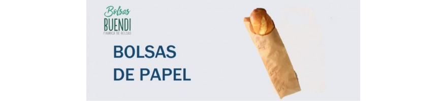 BOLSAS DE PAPEL PARA PANADERIA