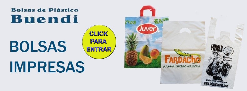 Banner bolsas impresas bolsas de plastic