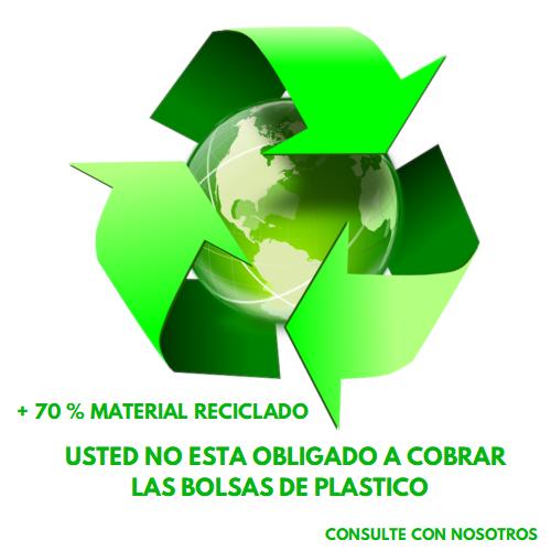 Bolsas de plastico material reciclado